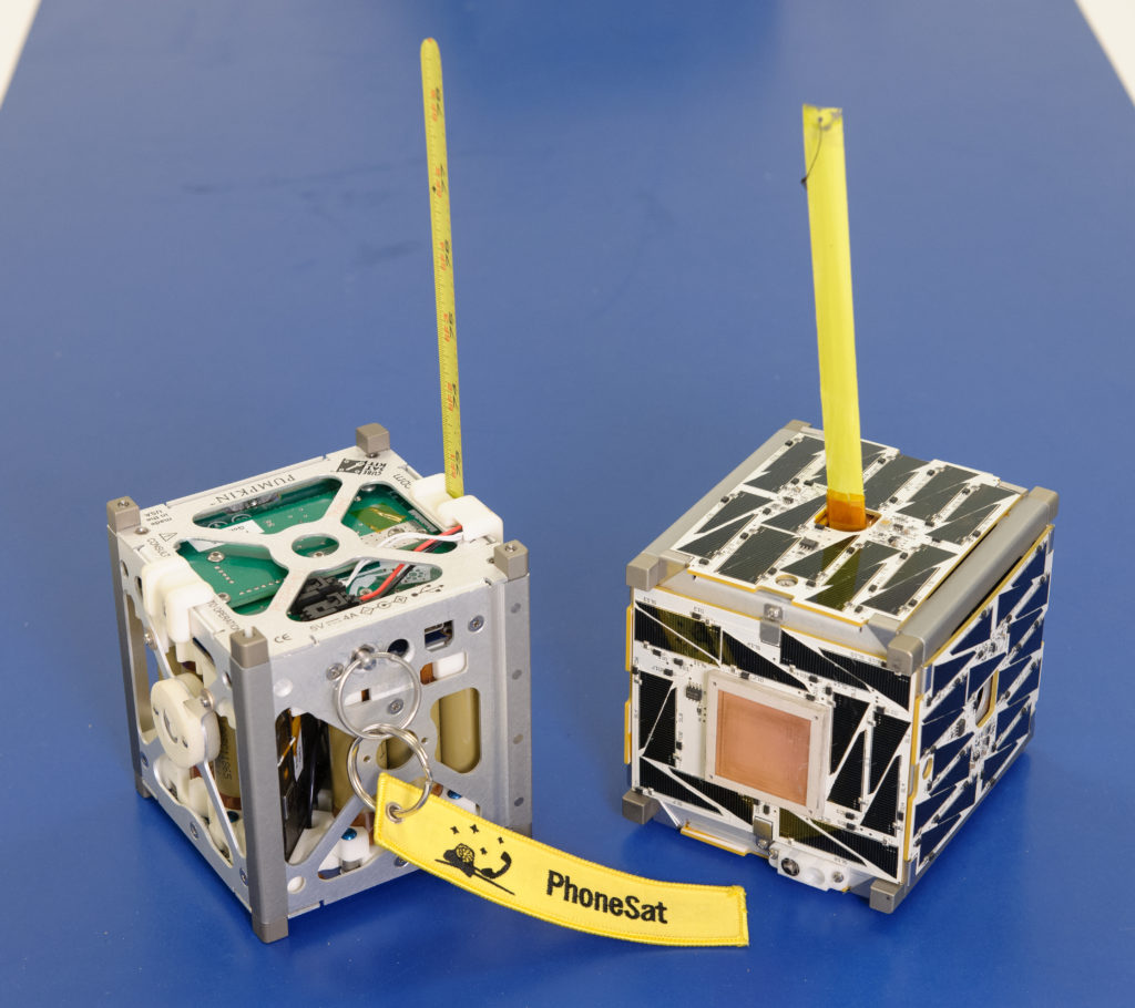 Two NASA CubeSats